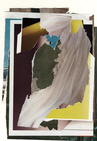 Ester Partegàs, 'Less world (torn advertising magazine pages)', 2010