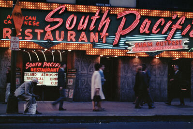 Mario Carnicelli, 'South Pacific Restaurant, Chicago', 1966