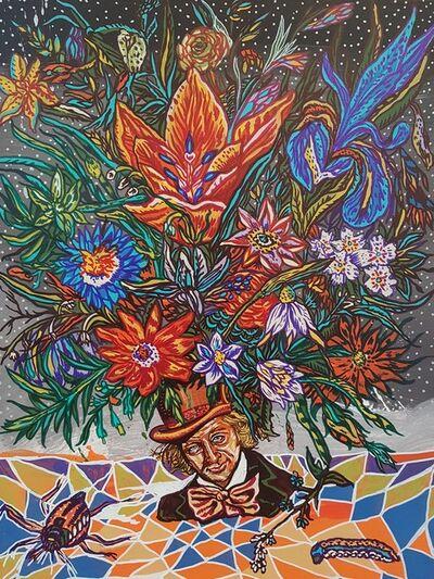 Clay Stinnett, 'Flowers of Wonka and Wrinkled Sri Yantra', 2016