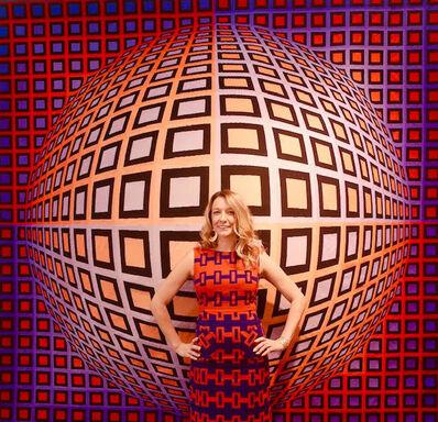 Lorraine Triolo, 'LA Art Show/Victor Vasarely', 2020