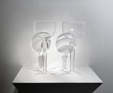 KIM HARTY, 'PLATE 16, GOBLET WITH LONG STEM', 2019