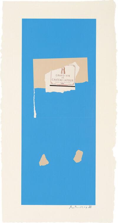 Robert Motherwell, 'Summer Light Series: Pauillac, No.4', 1973