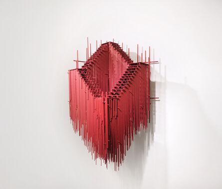 David Moreno (b.1978), 'RED LOOP, SUBIC O BAJAR', 2021