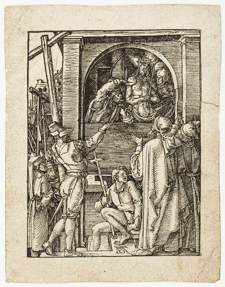 Albrecht Dürer, 'Christ Presented to the People [Ecce Homo], from: The Small Passion', circa 1509