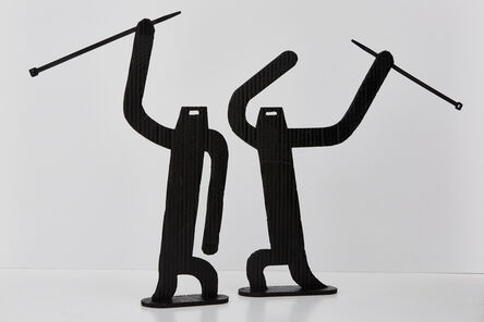 Conrad Botes, 'Fight with Cudgels', 2015