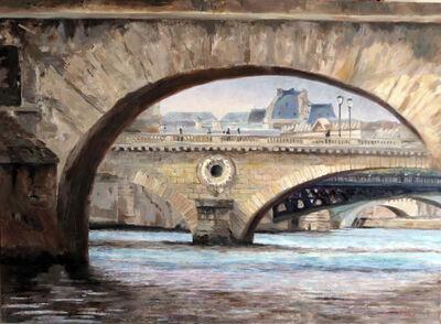 Jann Pollard, 'Six Bridges on the Siene', 2016