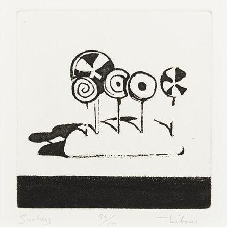 Wayne Thiebaud, 'Suckers, from Delights', 1964