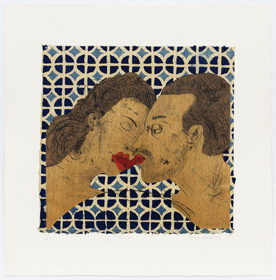 Margo Humphrey, 'The Kiss', 1994