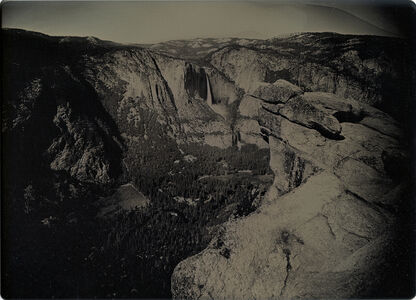 Binh Danh, 'View from Glacier Point with Hanging Rock, Yosemite, CA', 2017