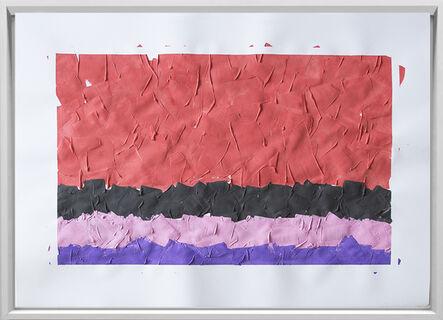Rodrigo González Castellanos, 'Desgaste de la psicología del color, Erotismo', 2020