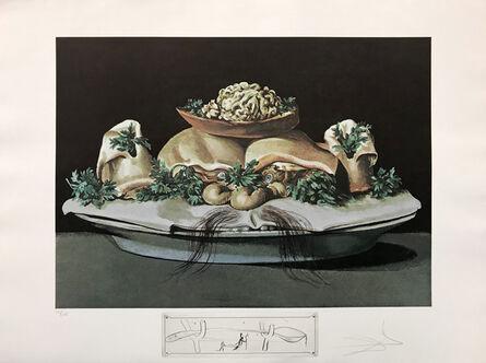 Salvador Dalí, 'LES SUPRENES DE MAILLAISE LILIPUTIENS', 1971