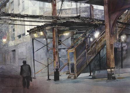 John Salminen, 'Wells Street Evening'