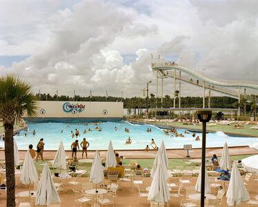 Joel Sternfeld, 'Wet'n Wild Aquatic Theme Park, Orlando, Florida, September 1980', 1980