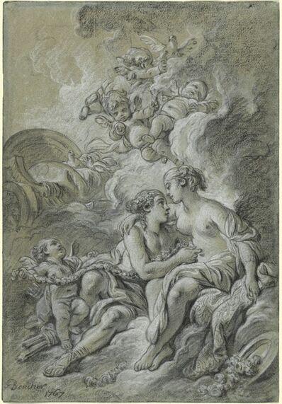François Boucher, 'Venus appuyee sur son cher Adonis ...', 1767