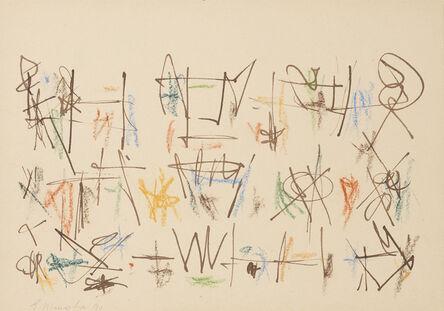 Ernest Mancoba, 'Untitled 17', 1990