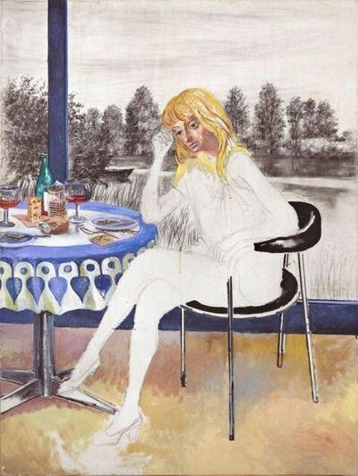 Antonio Berni, 'Joven sentada', 1980