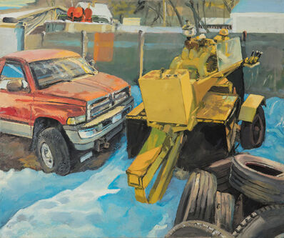 George Nick, 'Dracut Snow 21 Feb 2017', 2017