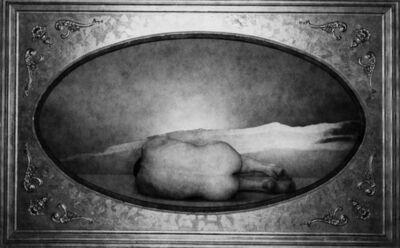 George Platt Lynes, 'Mel Fillini in Frame #2 [Male Nude in Cartouche]', 1954