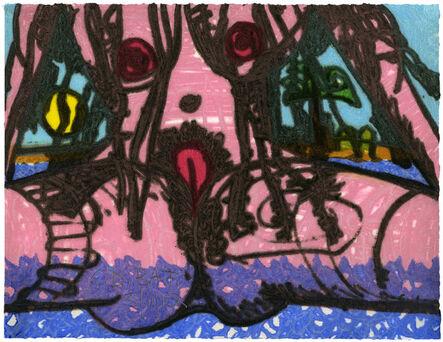 Carroll Dunham, 'The Nude #16', 2012/13