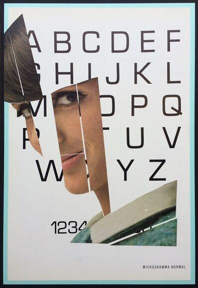 Eva Lake, 'Typeface, Microgramma Normal Big', 2016