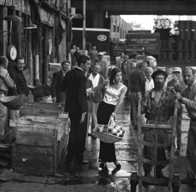 Jerry Schatzberg, 'Fulton Street Market, Manhattan', 1958