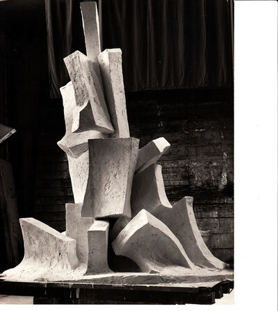 Fritz Wotruba, 'Great Figure', 1969