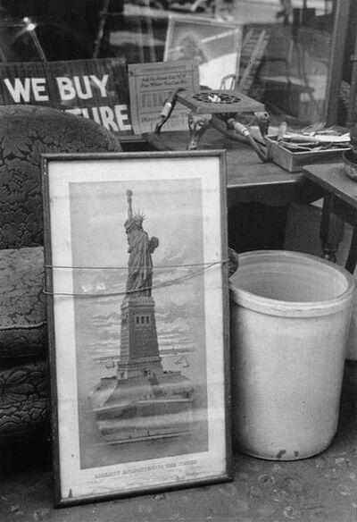 Ellen Auerbach, 'New York Statue of Liberty', 1940