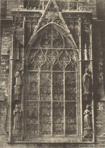 Jean-Louis-Henri Le Secq, 'Chartres Cathedral', Negative 1852; print 1870s