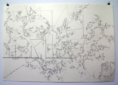 Yukari Bunya, '06. Drawing - Looking at the Scenery Alive', 2010