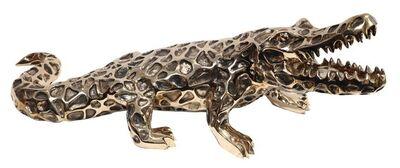 Richard Orlinski, 'Bronze Lace Crocodile', 2006
