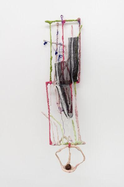 Julien Creuzet, 'Fenêtre doucement funeste, funeste, oligo-éléments vers firmament. Je t'aime tellement, tellement au loin. Les fruits sont de toi, rassis, rabougri, thanol', 2021
