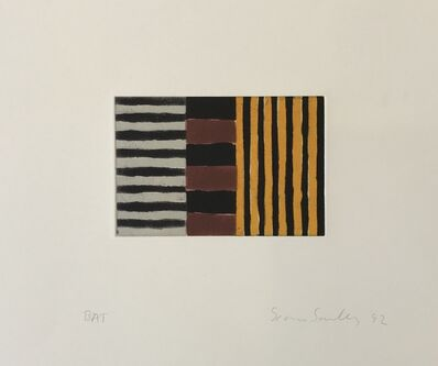 Sean Scully, 'Heart of Darkness 4', 1992