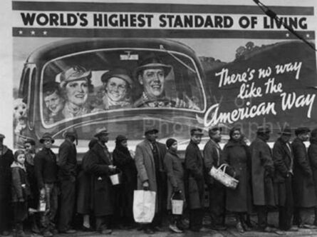 Margaret Bourke-White, 'At the Time of the Louisville Flood', 1937