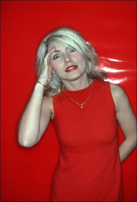 Allan Tannenbaum, 'Debbie Harry, Red Salute', 1978