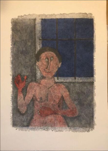 Rufino Tamayo, 'The flirt', 1989