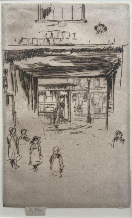 James Abbott McNeill Whistler, 'Drury Lane', 1880-1881