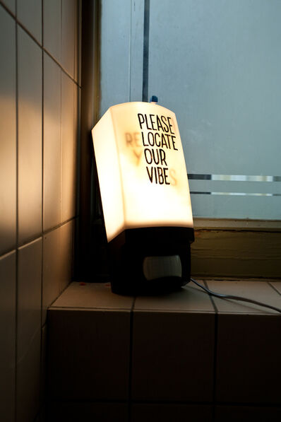 Navid Nuur, 'Please (Re)Locate your vibes'