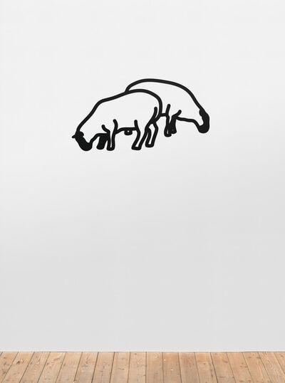 Julian Opie, 'Sheep 1.', 2015