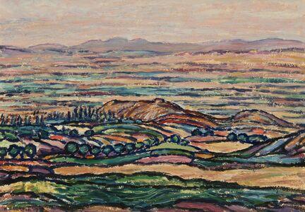 Harold Weston, 'Golden Palace of Darius, Hamadan', 1919