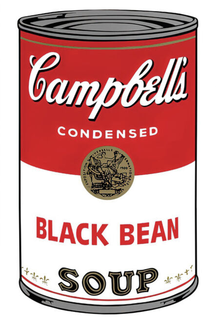 (after) Andy Warhol, 'Campbell's Soup Can 11.44 (Black Bean)', 1960s printed after