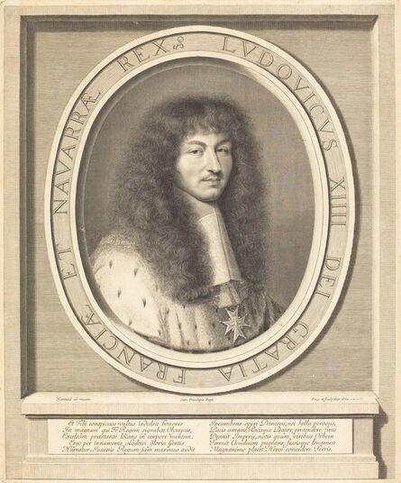Robert Nanteuil, 'Louis XIV', 1662