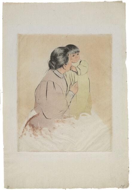 Mary Cassatt, 'Peasant Mother and Child (Breeskin 159; Mathews & Shapiro 17 viii/x)', ca. 1894