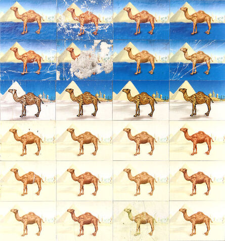 Robert Larson, 'Camels Night and Day', 2013