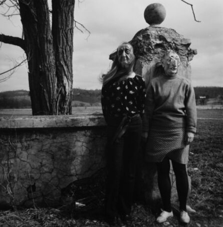 Ralph Eugene Meatyard, 'Lucybell Crater and her 15 year old Son's Friend', 1970-1971/1974