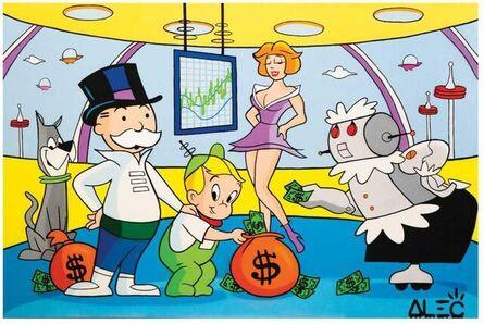 Alec Monopoly, 'Monopoly Jetsons Family', 2021