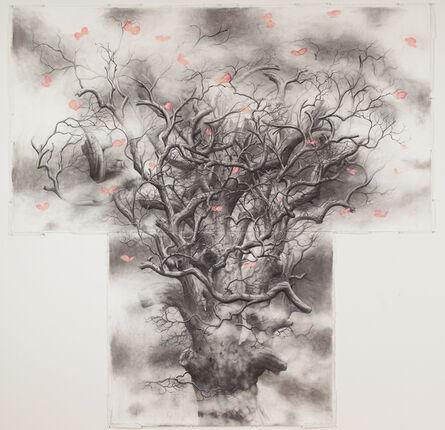 Jim Sullivan, 'Tree #5 (butterflies)', 2013