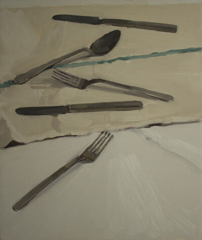 Carrie Mae Smith, 'Two Forks, Two Knives and Spoon', 2013