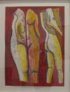 Eric Cadien, 'Figures in Composition', 1986