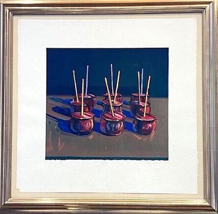 Wayne Thiebaud, 'Candy Apples ', 1987