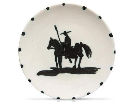 Pablo Picasso, 'Madoura Ceramic Plate - 'Picador' Ramié 160', 1950-1959